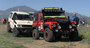 Land Rover Defender en el CAEX 4x4 Pizarra 2020
