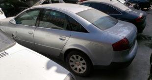 Audi A6 en Autodesguace CAT La Mina.