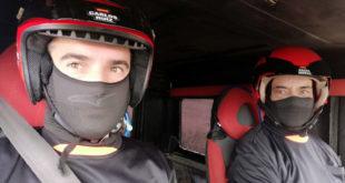 Carlos Ruiz y Salvador Moral, equipo La Mina Extreme 4x4.