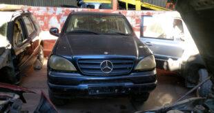 Mercedes ML en Autodesguace CAT La Mina.