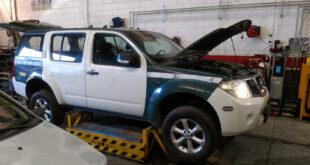 Nissan Pathfinder en Autodesguace CAT La Mina.