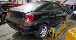 Toyota Celica en Autodesguace CAT La Mina.