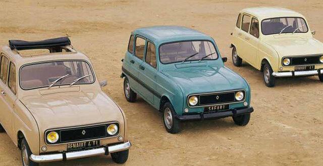 Piezas y recambios nuevos para el Renault 4 en Autodesguace CAT La Mina.