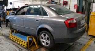 Audi A4 2.5 TDi en Autodesguace CAT La Mina.