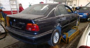 BMW 523i en Autodesguace CAT La Mina.