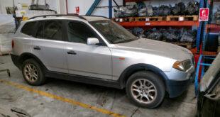 BMW X3 2.0d en Autodesguace CAT La Mina.