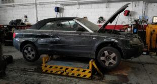 Audi A4 Cabrio en Autodesguace CAT La Mina.