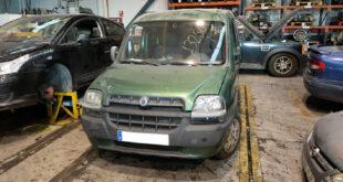 Piezas de desguace del Fiat Dobló