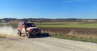 Cuarta posición en la primera etapa del Rally de Guadalajara para el Equipo Escudería La Mina Competición